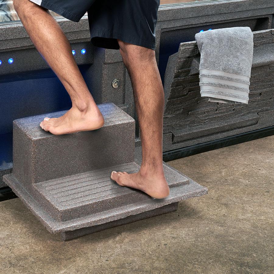 Premium Strong Spas Step Towel
