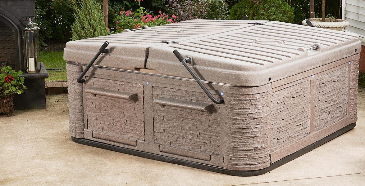 Strong Spas Outdoor Brown Premium Tub