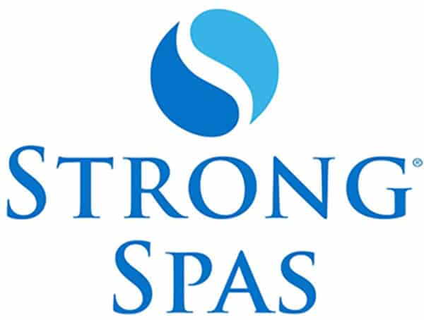 Strong Spas Logo Stacked