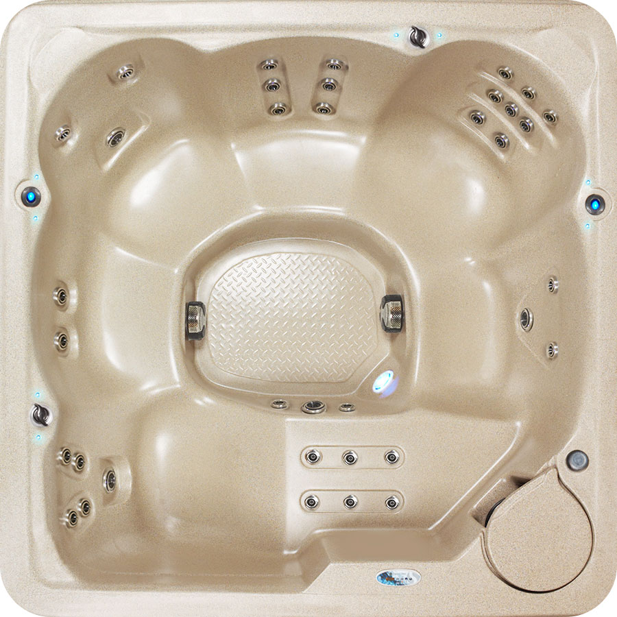 Birds Eye View Of G-2 Legend Luxury 36 Tub 2