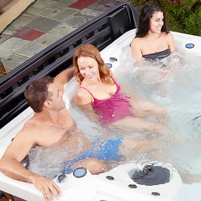 Family Using The S60 Tub
