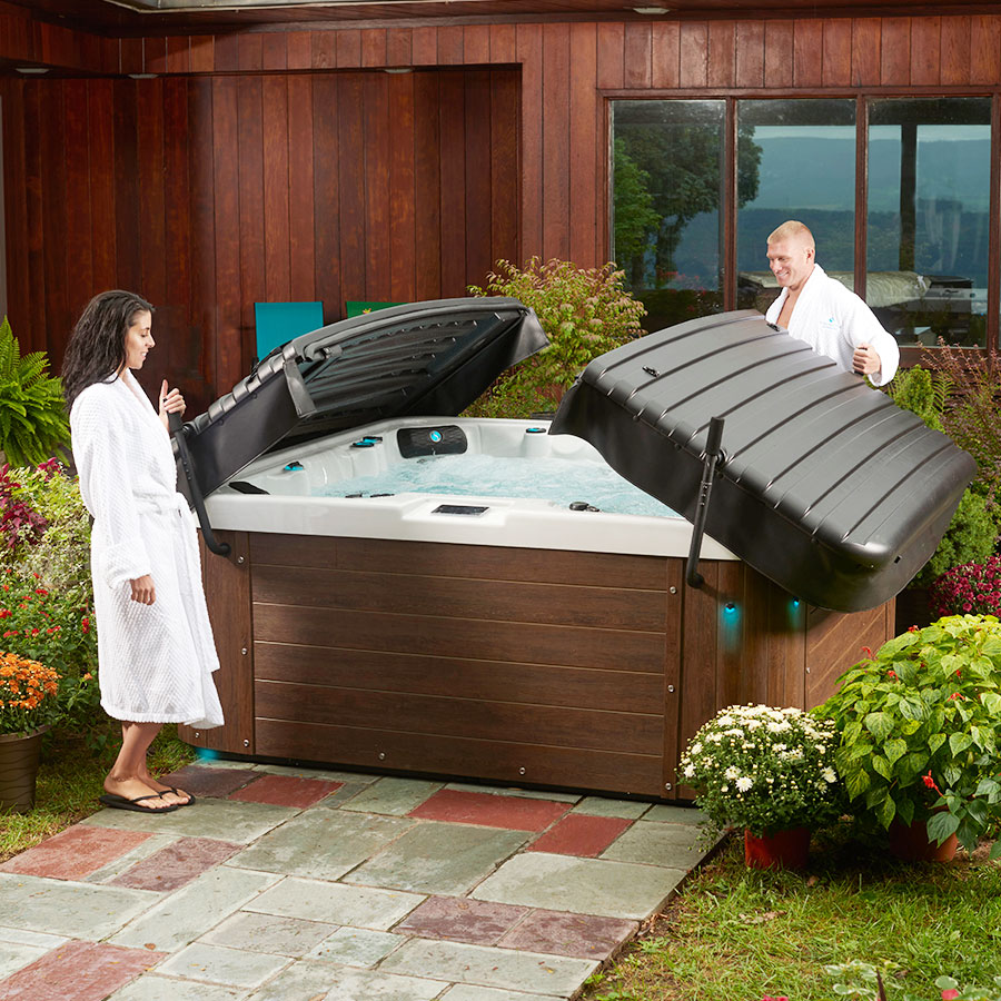 Outdoor Premium Strong Spas Hot Tub