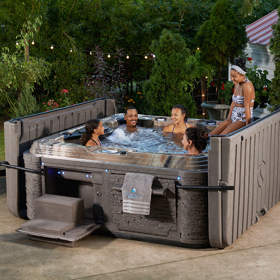 Strong Spas Hot Tubs Spas Hardcover Dura Shield System