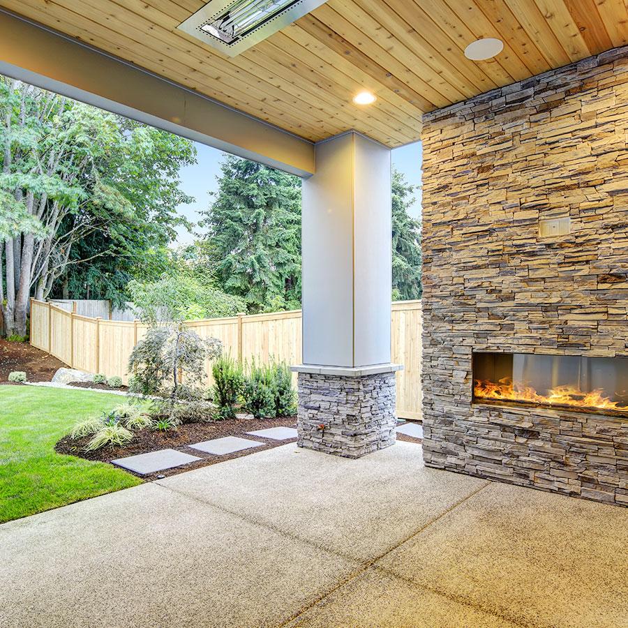 Beautiful Backyard Area
